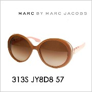 【OUTLET★SALE】マークバイマークジェイコブス サングラス MMJ-313S D8 57 MARC BY MARCJACOBS