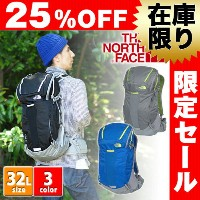 【25%OFFセール】【数量限定】ザ・ノースフェイスTHE NORTH FACE!バックパック 登山用リュック ザックパック 【TECHNICAL PACKS】[LITUS 32]...