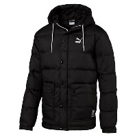 プーマ OUTERWEAR DOWN JACKET メンズ Puma Black