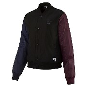 プーマ STRIPED BOMBER JACKET ウィメンズ Puma Black