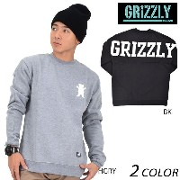 SALE セール 50%OFF メンズ トレーナー GRIZZLY グリズリー BACKING IT CREWNECK VIGR16321 DD3 J3