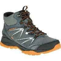 メレル Merrell メンズ 登山 シューズ・靴【Capra Bolt Mid Waterproof Hiking Boot】Grey/Orange