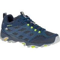 メレル Merrell メンズ 登山 シューズ・靴【Moab FST Waterproof Hiking Shoe】Navy