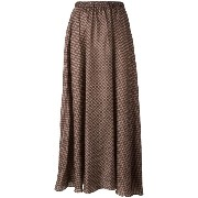 Mes Demoiselles patterned maxi skirt