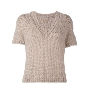 Mes Demoiselles shortsleeved knit top