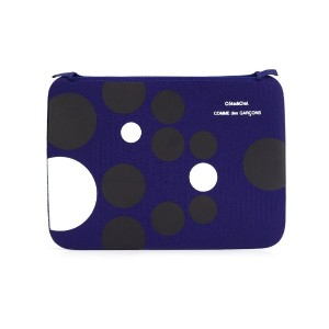 Comme Des Garçons Wallet - ドット柄 ファスナーポーチ - unisex - ナイロン - ワンサイズ
