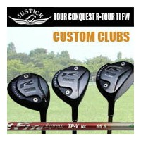 JUSTICKPROCEED R-TOUR CONQUEST TITANIUM FWジャスティックプロシード ツアーコンクェスト アール ツアー チタン フェアウェイウッドシャフト...