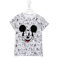 Little Eleven Paris Micky Mouse Tシャツ