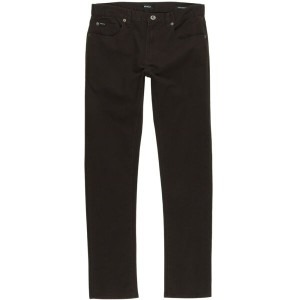 ルーカ RVCA メンズ ボトムス ジーンズ【Daggers Twill Slim Pant】Dark Chocolate