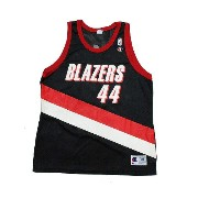 CHAMPION】NBA BLAZERS GRANT BASKETBALL JERSEY [BLACK:XL(48)]/チャンピオン