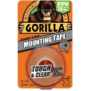 Gorilla Tape 6065001 Mounting Tape, Clear, 6 pack by Gorilla Glue [並行輸入品]
