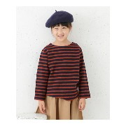 【SALE/30%OFF】DOORS FORK&SPOON Brushed Border Boatneck(KIDS) アーバンリサーチドアーズ カットソー【RBA_S】【RBA_E】【送料無料】