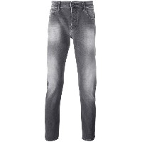 7 For All Mankind ストーンウォッシュ スリムジーンズ