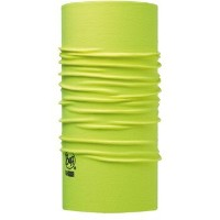 (Buff/バフ)(自転車用ウェア小物関連)HIGH UV PROTECTION BUFF SOLID YELLOW FLUOR