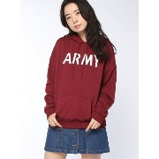 【SALE/10%OFF】WEGO 【BROWNY】(L)ARMYパーカ ウィゴー カットソー【RBA_S】【RBA_E】