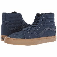 バンズ レディース スニーカー シューズ SK8-Hi Reissue (Canvas Gum) Dress Blues/Light Gum