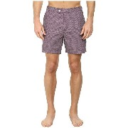 テッドベーカー メンズ 水着 水着 Riteup Mini Herringbone Formal Shorts Deep Purple