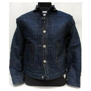 LEVI'S-XX(リーバイス)VINTAGE CLOTHING/Archive [1880 Triple Pleat Blouse Jacket]Made in U.S.A./トリプルプリーツブラウ...
