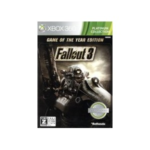 【中古】 Fallout 3 Game of the Year Edition プラチナコレクション /Xbox360 【中古】afb