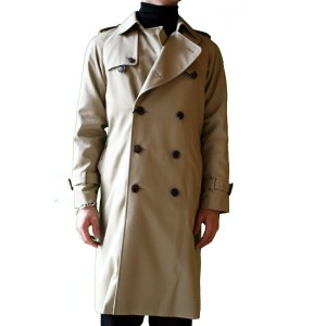 【正規取扱店】beautiful people ultimatepima trench coat CAMEL BEIGE (ビューティフルピープル)