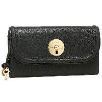 シーバイクロエ 財布 SEE BY CHLOE 9P7710 P295 001 LOIS SBC LONG WALLET WITH FLAP 長財布 BLACK