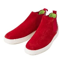 【AMBITIOUS】 アンビシャス サイドゴアスニーカー SIDE GORE SNEAKER LT AM00018 ROSSO