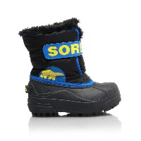 ★SOREL 〔ソレル ジュニアスノーブーツ〕 Children's Snow Commander NC1877/011 〔BLACK SUPER BLUE〕〔z〕