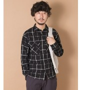UR URBAN RESEARCH iD COTTON TWILL CHECK SHIRTS【アーバンリサーチ/URBAN RESEARCH シャツ・ブラウス】