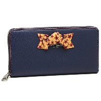 マークジェイコブス 財布 MARC JACOBS M0009923 415 BOW STANDARD CONTINENTAL WALLET 長財布 MIDNIGHT BLUE