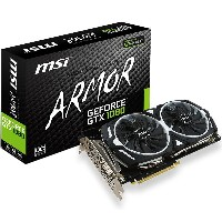 msi エムエスアイ ビデオカード GEFORCE GTX 1080 ARMOR 8G OC [NVIDIA GeForce GTX 1080 / 8GB]