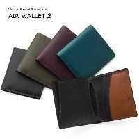 折財布 Vintage Revival Productions 軽量 レザー ショートウォレットAirWallet2:wallet-ya-5181259