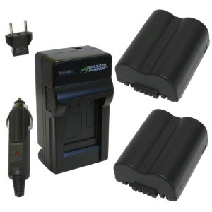 Wasabi Power バッテリー and Charger キット for Leica BP-DC5, BP-DC5-E, BP-DC5-J, BP-DC5-U, V-Lux 1 「汎用品」...