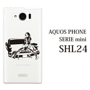 au AQUOS PHONE SERIE mini SHL24 ケース カバー アメ車ガール クリア for au AQUOS PHONE SERIE mini SHL24 ケース カバー...