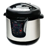 スロークッカー マルチクッカー 大容量 7.6リットル Elite Platinum EPC-808 Maxi-Matic 8 Quart Electric Pressure Cooker【smtb-k】...