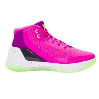 Under Armour Curry 3キッズ/レディース Lunar Pink/Purple アンダーアーマー バッシュ カリー3 Stephen Curry ステフィン・カリー