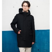 KC W/CLOTH HOODED フード付きコート glrb【グリーンレーベルリラクシング/green label relaxing その他(アウター)】