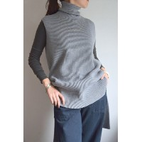 STUDIO NICHOLSON(スタジオニコルソン)/CORNELL RIBBED ROLL NECK TUNIC