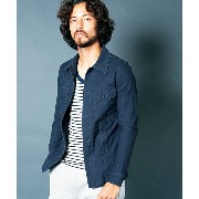 【Magine(マージン)】1711-04-BACKSATIN STRETCH FATIGUE SHIRTS ファティーグシャツ
