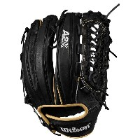 ウィルソン メンズ 野球 グローブ【Wilson A2K D33 Closed Pro Laced Web FLDR GL】Black