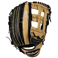 ウィルソン メンズ 野球 グローブ【Wilson A2K 1799 Dual Post Web Fielder's Glove】Blonde/Black