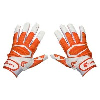 カッターズ メンズ 野球 グローブ 手袋【Cutters Power Control 2.0 Yin Yang Batting Glove】Orange/White