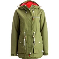 CLWR CLWR レディース スノーボード ウェア【Up Parka】Loden