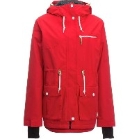 CLWR CLWR レディース スノーボード ウェア【Up Parka】Red