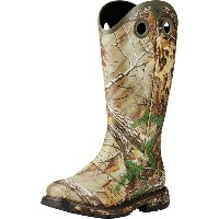アリアト Ariat メンズ スノー シューズ・靴【Conquest Rubber Buckaroo Insulated Boot】Realtree Xtra