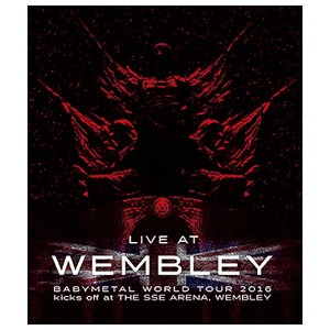 【送料無料】バップ 「LIVE AT WEMBLEY ARENA」BABYMETAL WORLD TOUR 2016 kicks off at THE SSE ARENA WEMBLEY (2016...
