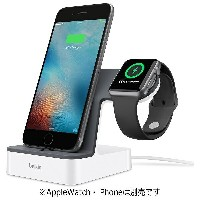 【送料無料】 BELKIN Valet Charge Dock for Apple Watch + iPhone F8J200QEWHT ホワイト