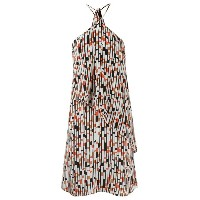Andrea Marques - printed tunic - women - シルク - 36