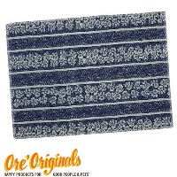 OREオリジナル【O.R.E Originals】ペット用食事マット ランチョンマット(Stripe Placemat in Blue)