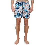 Original Penguin Dark Floral Print Fixed Volley Shorts ショーツ
