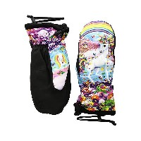 セルテック レディース 手袋 アクセサリー Gore-Tex Bitten By A Womitten Lisa Frank Rainbow Mischief